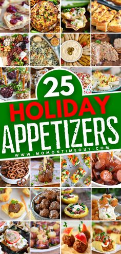 Do you want to make this year's holiday entertaining the best it has ever been? This roundup of easy recipes has got you covered. With more than 25 of the most amazing crowd-pleasing appetizers to choose from, there is something festive and delicious for everyone!