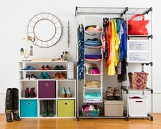 Organize your closet with these tips and tricks.
