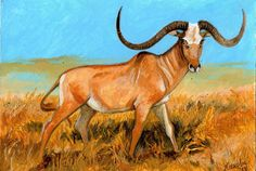 Megalotragus | Megalotragus by TORIMORRIS, Africa, about 10,000 BC