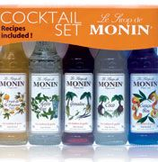 We're giving away 10 MONIN Cocktail Sets, so you can try your hand at mixology this Christmas