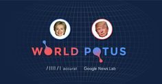 Do you want to know how much people outside the United States are interested in the presidential elections?