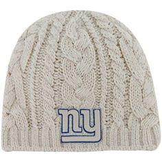 f39eed7120b  47 Brand New York Giants Ladies Shawnee Knit Hat - White Nfl New York  Giants