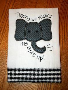 Cutest Bama burp cloth! Found on Etsy