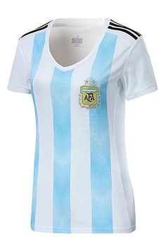 585939bda Argentina 2018 World Cup Soccer Jersey Women Replica National Team X-Small