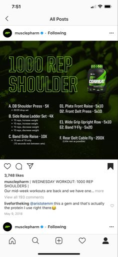 Muscle Gain Workout, Muscle Fitness, Body Weight Training, Weight Lifting, Shoulder Muscles Workout, Musclepharm Workouts, Gym Workouts, Fitness Exercises, Muscle Pharm