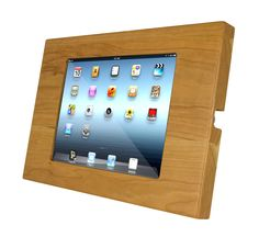 ProTablet - Locking iPad Case (Closed Home Button Wood Finish), $299.00 (http://www.pro-tablet.com/tablet-enclosures/locking-ipad-case-closed-home-button-wood-finish/)