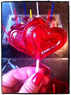 Home made Lolly Pops