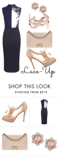 """""""Senza titolo #83"""" by labicia ❤ liked on Polyvore featuring Christian Louboutin, Solace, Chanel and Yves Saint Laurent"""