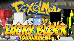 Minecraft [ITA] : Pixelmon Lucky Block Challenge #02 : MINI TORNEO