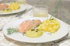 Salmón con salsa de avellanas | Receta para MyCook