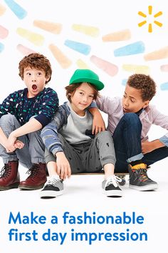 Get huge savings on the latest looks for boys with apparel that speaks to every style. Stock up today at walmart.com