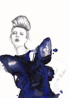 illustration de mode www.mllechatchat.com