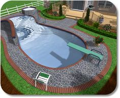 Inground Pool Designs >> Inground Pool Designs Images | Inground ...