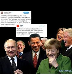 """trump is too Stupid, Narcissistic and Obsessed with himself and Hillary to understand Every World Leader is Laughing at Him & thinks he's as Dumb as a Bag of Hammers!! He's """"Egged On"""" daily with his Enabling Inner Circle and his Hateful Equally Dumb Supporters!!"""