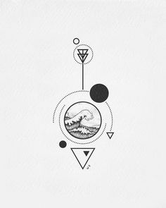 Minimalist Tattoo Designs - Page 84 of 95 - CoCohots Black Tattoos, Body Art Tattoos, Small Tattoos, Tatoos, Illustration Tattoo, Ink Illustrations, Marshmello Wallpapers, Black And White Illustration, Pen Art
