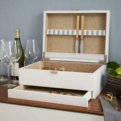 Lacquer Flatware Box | west elm