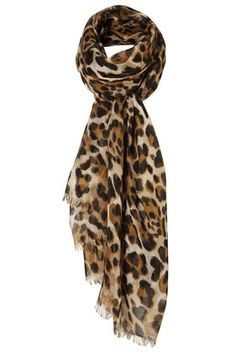 I am really into leopard prints right now....I am especially partial to my leopard print scarf.  It's just fun :)
