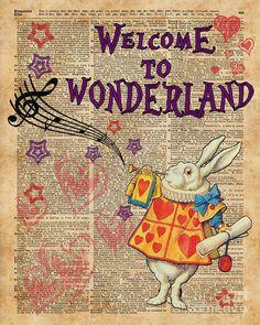 Alice In Wonderland Poster, Alice In Wonderland Aesthetic, Alice In Wonderland Vintage, Alice In Wonderland Illustrations, Alice In Wonderland Tea Party, Adventures In Wonderland, Dorm Posters, Plakat Design, Poster Prints