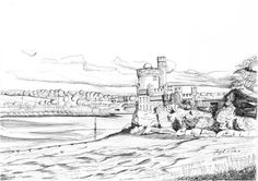 Blackrock Castle Irish Art, Cork Ireland, Art For Sale, How To Draw Hands, Castle, Drawings, Prints, Painting, Outdoor