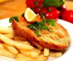 Turte cu iaurt si cascaval Wednesday Specials, Chicken Schnitzel, Grilling, Chips, Yummy Food, Meat, Dinner, Vegetables, Breakfast