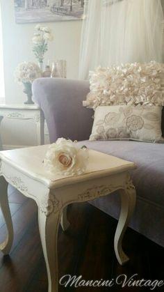 #mancinivintage #mancinivintageinteriors #white #shabbychic #paintedfurniture #french #romantic #paris #fleamarket #frenchprovincial #glamour #glam #cottage #chaise #fainting #couch #sofa #settee #velvet