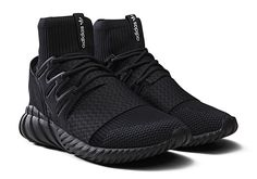 adidas Tubular Doom Primeknit Triple Black features a Core Black, Core Black and Core Black color scheme. This adidas Tubular Doom is built with Primeknit Sneaker Store, Sneaker Bar, Sneaker Boots, Adidas Tubular Doom, Running Sneakers, Running Shoes For Men, Mens Running, Sneakers For Sale, All Black Sneakers