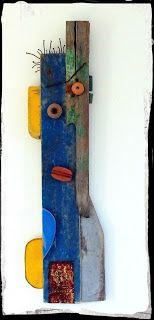 Sculptures Céramiques, Sculpture Art, Driftwood Wall Art, Organic Art, Art Diy, Found Object Art, Wood Creations, Assemblage Art, Wooden Art