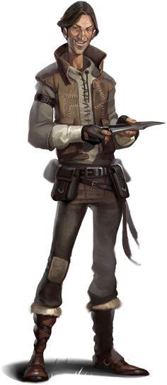 Eric Belisle - Creepy rogue NPC