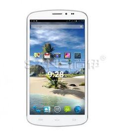 Sanei G606 use 6.4 inch Screen, with MTK6589t Quad Core 1.5GHz professor, has 1GB RAM, 8GB ROM, 2MP front + 13MP rear double camera, installed Android 4.2 OS.