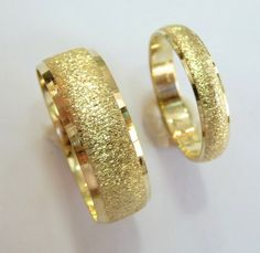 Wedding bands set gold wedding rings for men and by havalazar,