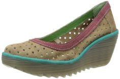 Fly London Women's YediPerf Sand/Purple/Peackok Comfort P500274013 4 UK: Amazon.co.uk: Shoes & Bags