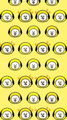 Bts Wallpaper, Lock Screen Wallpaper, Iphone Wallpaper, Paper Case, Jimin Fanart, Line Friends, Bts Drawings, Bts Chibi, Bts Fans