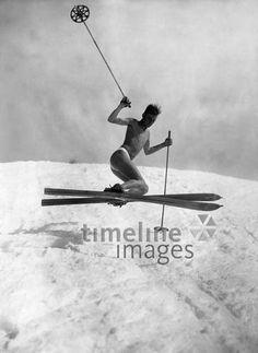 31 Wintersport, 1900-1940er-Ideen | skifahren, skier
