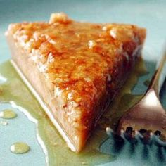 This rich, nutty confection is soaked in a honey-citrus syrup, giving it a flavor much like baklava. For the best flavor, soak overnight, and serve chilled.