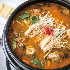 Dwenjang Jjigae   Korean Soybean Paste Stew