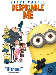 Despicable Me series, I mean Minions are amazingly cute. These are so family friendly movies. Kids Toddlers Family Movie