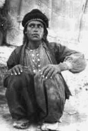"""Selim Ahmed-- (1897–1916), also called """"Dahoum"""", meaning """"little dark one"""", was a Syrian Arab boy who worked with T. E. Lawrence at a pre-war archaeological dig at Carchemis"""
