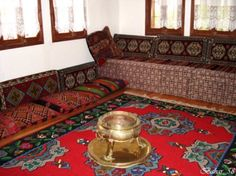 Or this is a Turkish Sofa. Now, these seats are used mostly in villages. @Rachel Jeffreys