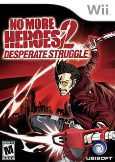 No More Heroes 2 Desperate Struggle- a massively fun (and bloody) video game.