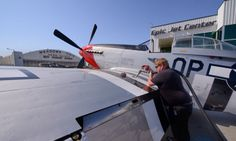 Untitled by Michael Wong on Capture Kern County // P-51D Mustang and Memphis Belle at Meadows Field