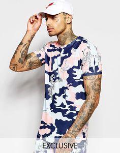 Hype+T-Shirt+In+Camo