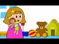 Miss Molly Had A Dolly Nursery Rhyme (+playlist) Nursery Ryhmes, Preschool Songs, Kids Learning, Winnie The Pooh, Pikachu, Disney Characters, Fictional Characters, Family Guy, Lettering