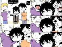 Percy, Nico and Jason