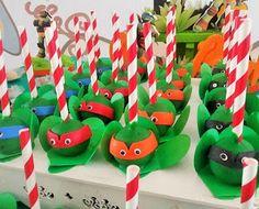 Mellos doces : Festa Tartarugas Ninja