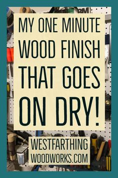 This is a game changing finishing method, and you can handle the piece immediately after you apply the finish. It's compeltely dry. Ring Making, How To Make Rings, Woodworking Books, Wood Rings, Book Publishing, Wood Projects, Workshop, Surface, Handle
