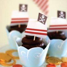 cup cakes pirata