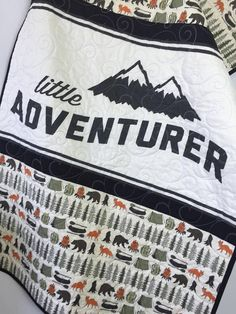 Adventure quilt camping blanket woodland bohemian tribal