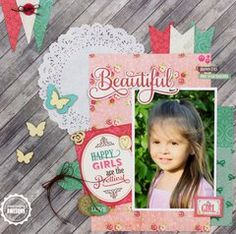 Project Ideas for Echo Park - Jack and Jill Collection - Girl - 12 x 12 Collection Kit