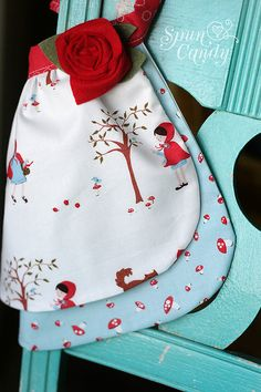 Adorable!!! Bitty Apron Little Red Riding Hood by MelissaMullinax on Etsy