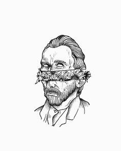 Tattoo sketches 682858362238073139 - ✔ Cute Tattoos On Arm Life Source by Tattoo Sketches, Tattoo Drawings, Drawing Sketches, Art Drawings, Drawing Ideas, Cute Drawings Of Love, Tattoo Old School, Arte Van Gogh, Van Gogh Art